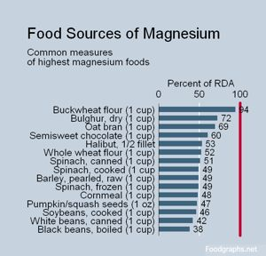What Foods Have High Levels Of Magnesium